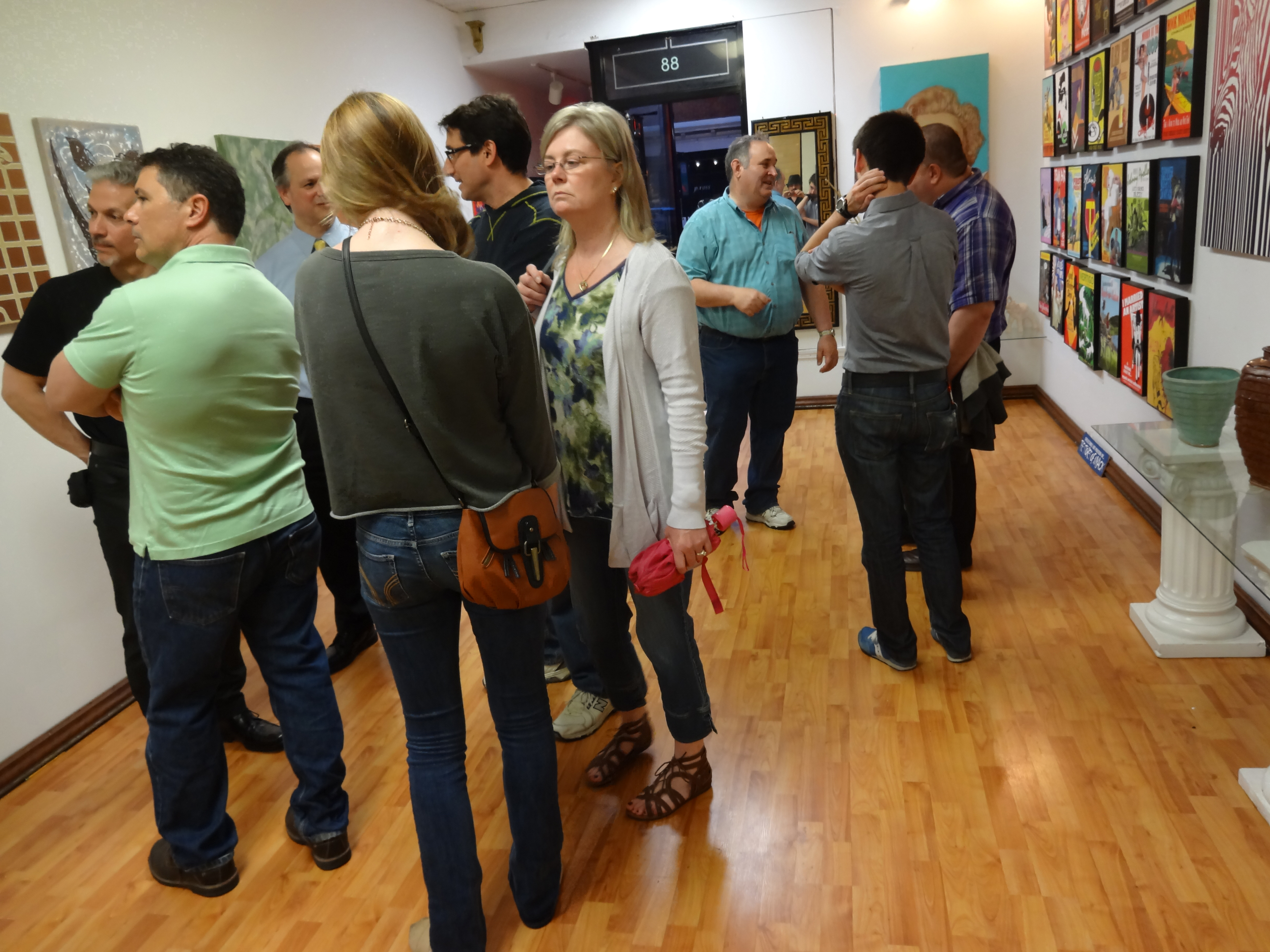 Photo of an event at Johnny Apollo Gallery